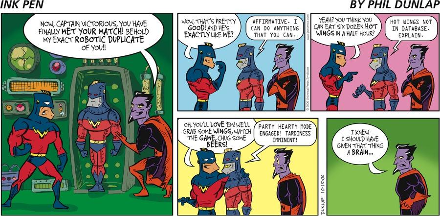Ink Pen Comic Strip for October 15, 2006