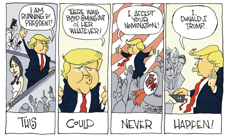 Signe Wilkinson Comic Strip for July 24, 2016