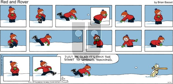 Red and Rover on Sunday February 25, 2018 Comic Strip