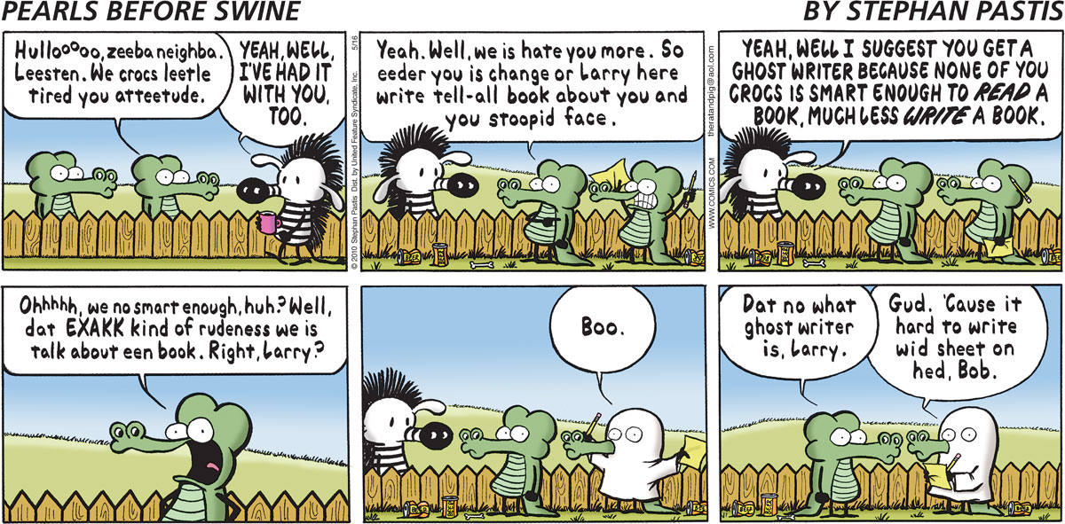 Pearls Before Swine for May 16, 2010 Comic Strip