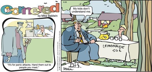 Cornered on Sunday August 26, 2007 Comic Strip