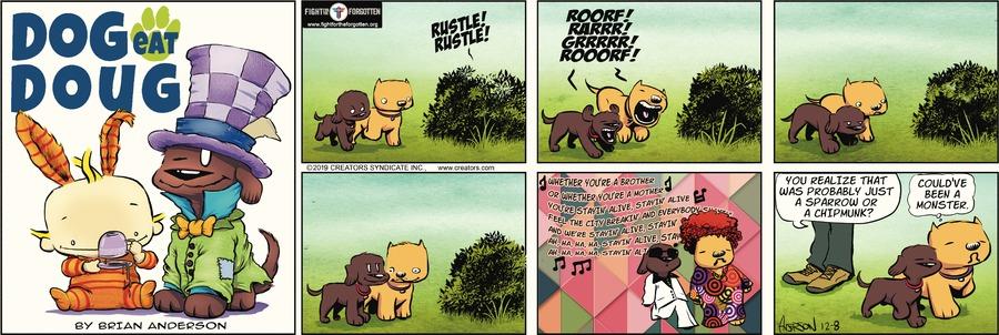Dog Eat Doug Comic Strip for December 08, 2019