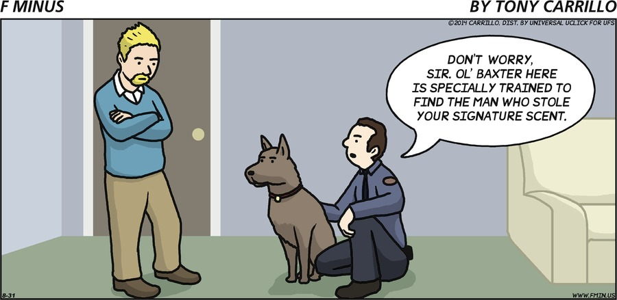 F Minus for Aug 31, 2014 Comic Strip