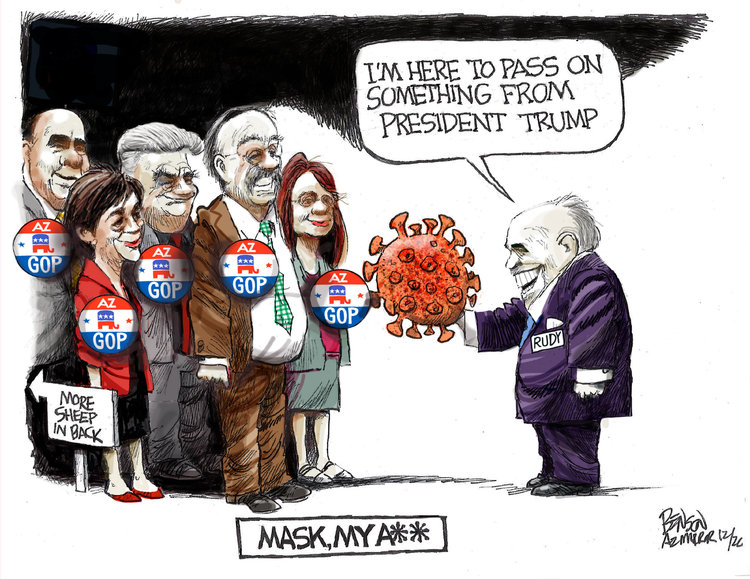 Steve Benson Comic Strip for December 10, 2020