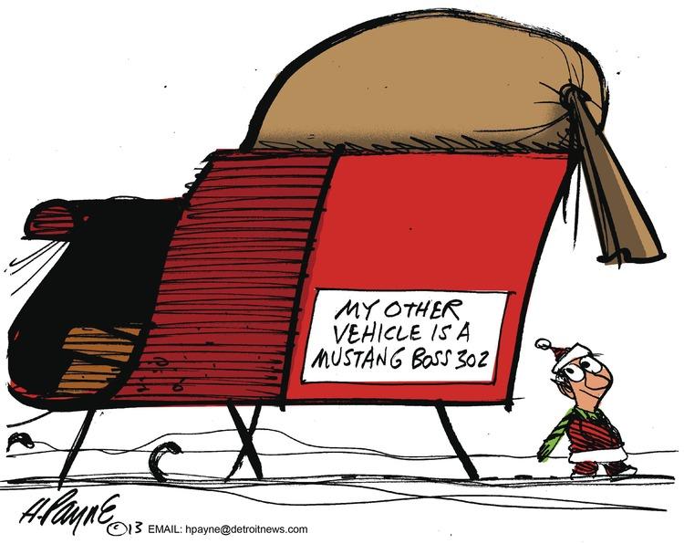 Henry Payne Comic Strip for December 22, 2013