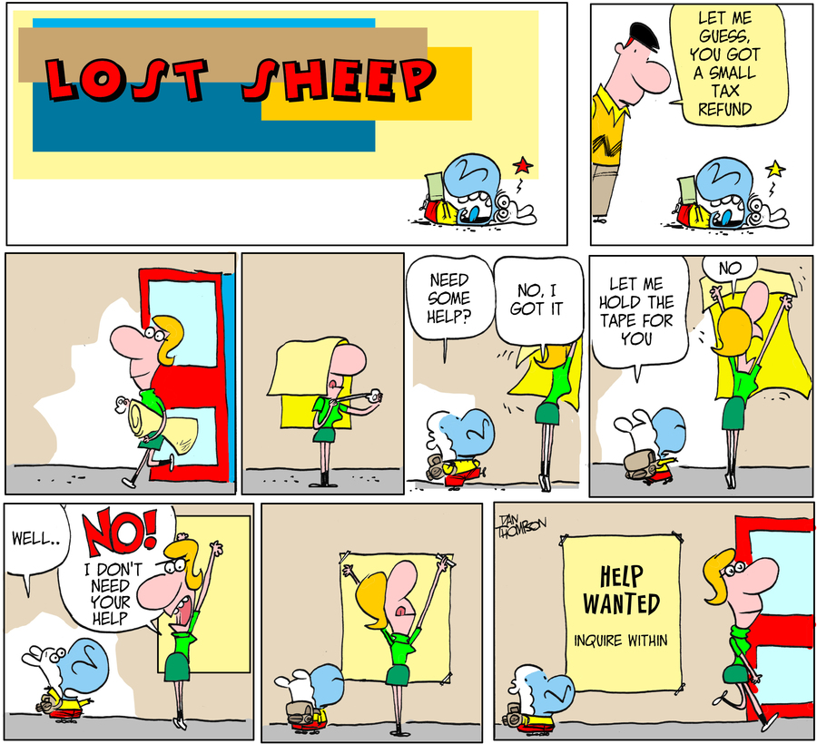 Lost Sheep for Jul 28, 2013 Comic Strip