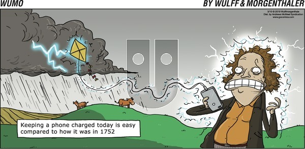 WuMo on Sunday March 10, 2019 Comic Strip