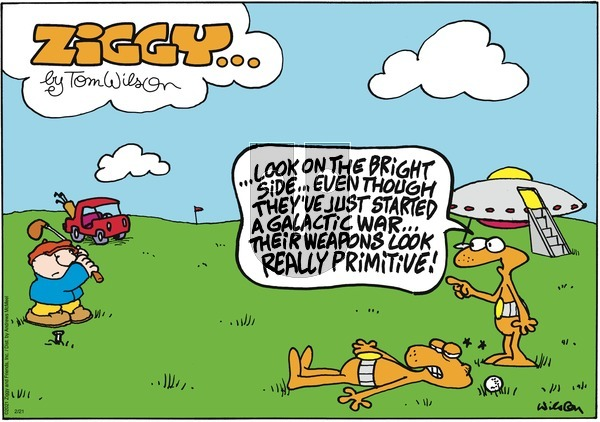 Ziggy on Sunday February 21, 2021 Comic Strip