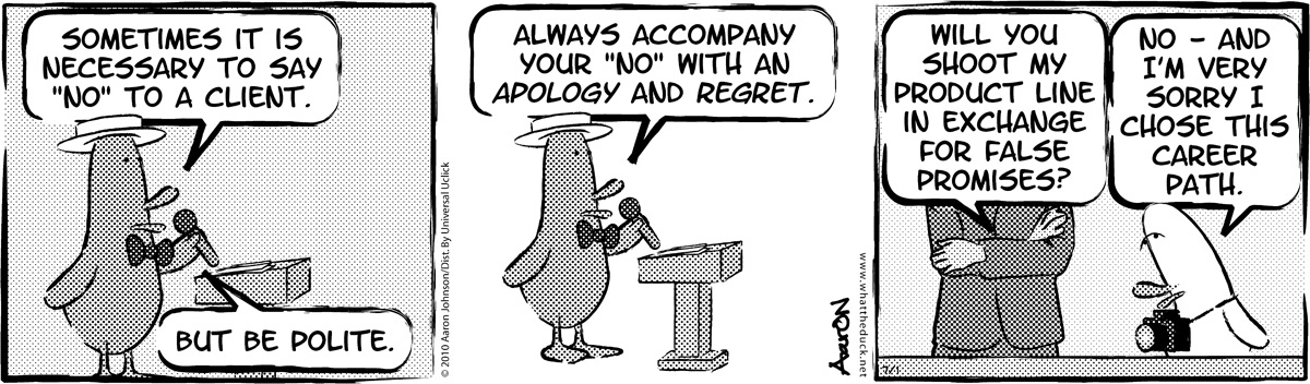 W.T. Duck Comic Strip for April 22, 2019