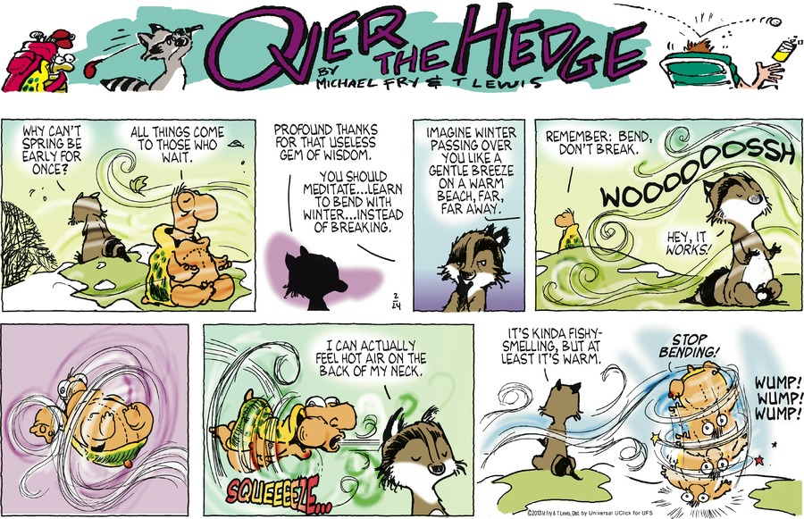 Over the Hedge for Feb 24, 2013 Comic Strip