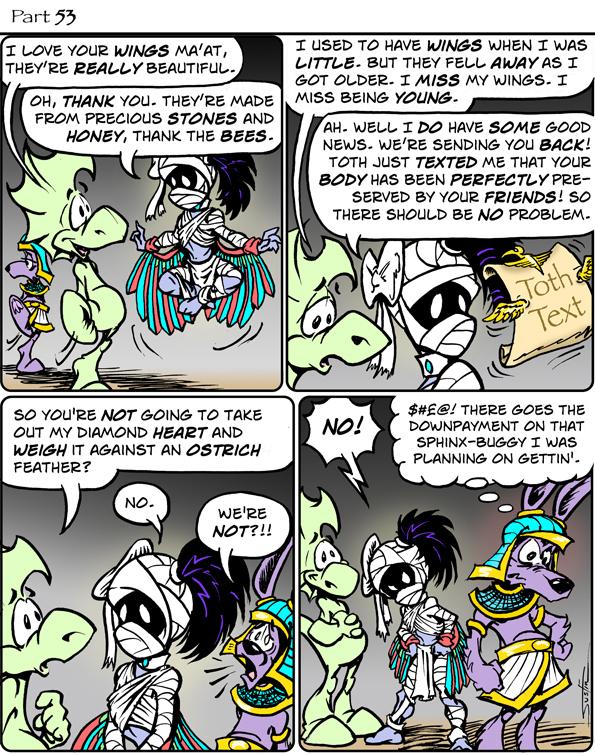 MythTickle Comic Strip for September 22, 2021
