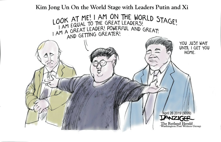 Jeff Danziger by Jeff Danziger for April 28, 2019