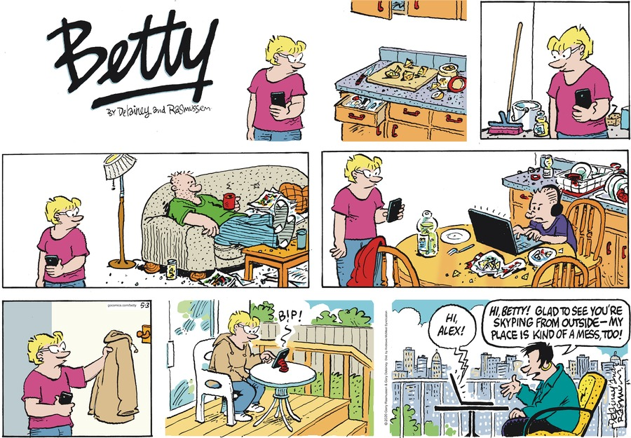 Betty Comic Strip for May 03, 2020