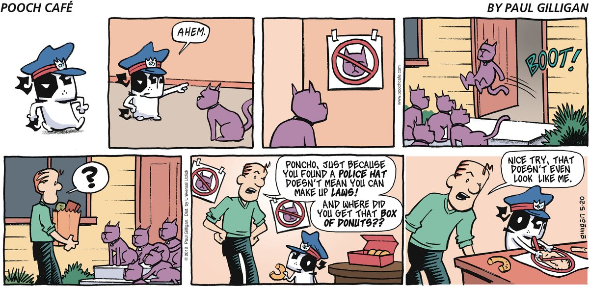 Pooch Cafe Comic Strip for May 20, 2012