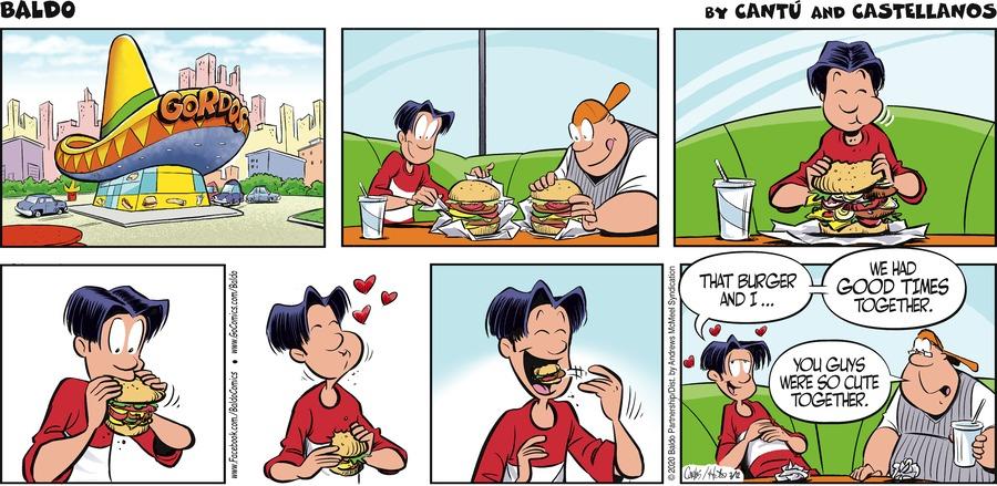 Baldo Comic Strip for July 12, 2020