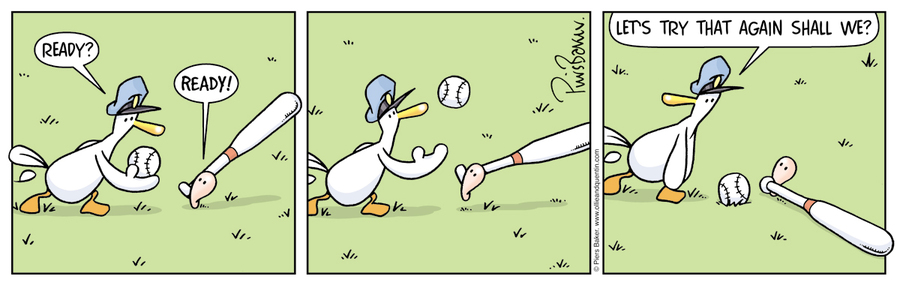 Ollie and Quentin for Mar 26, 2013 Comic Strip