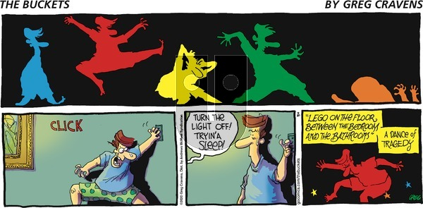 The Buckets on Sunday September 20, 2020 Comic Strip