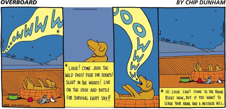Overboard for Nov 28, 2004 Comic Strip