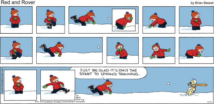Red and Rover for Feb 25, 2018 Comic Strip