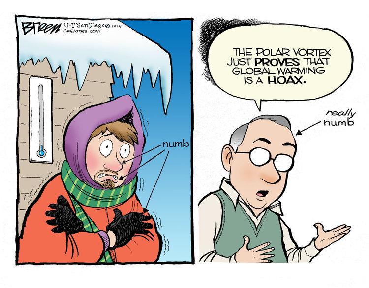 Steve Breen Comic Strip for January 08, 2014