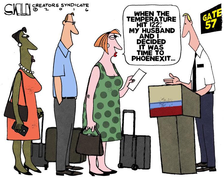 Steve Kelley Comic Strip for June 21, 2016
