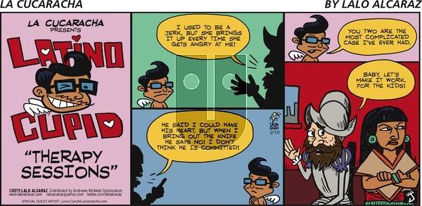 La Cucaracha on Sunday February 10, 2019 Comic Strip