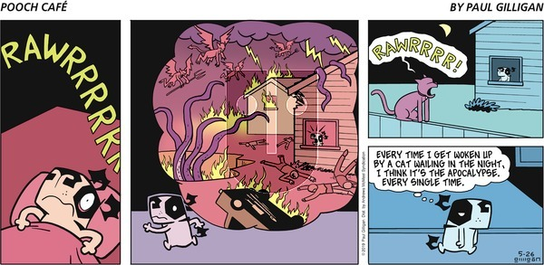 Pooch Cafe on Sunday May 26, 2019 Comic Strip