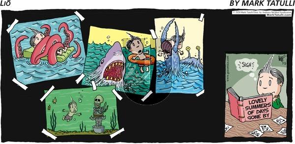 Lio - Sunday July 5, 2020 Comic Strip