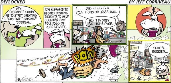 DeFlocked on Sunday July 8, 2018 Comic Strip