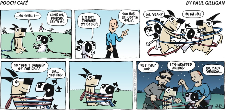 Pooch Cafe Comic Strip for May 26, 2013