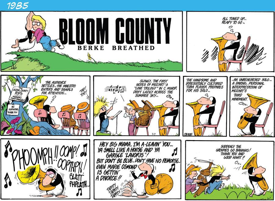Bloom County 2019 Comic Strip for April 04, 2016
