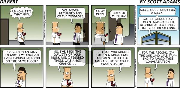 Dilbert - Sunday September 1, 2013 Comic Strip