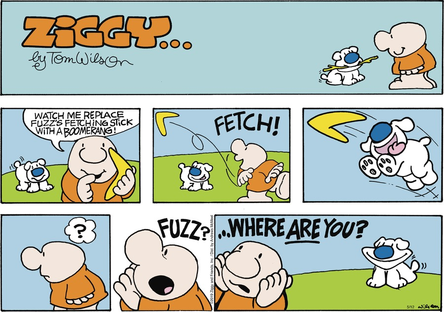 Ziggy Comic Strip for May 12, 2019