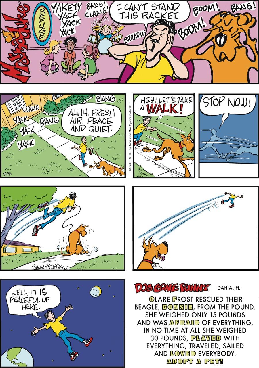 Marmaduke Comic Strip for April 26, 2020
