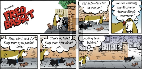 Fred Basset on Sunday August 15, 2021 Comic Strip