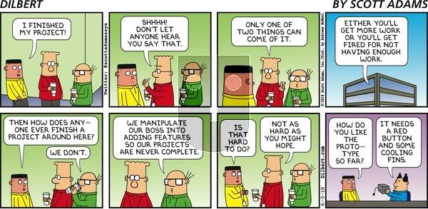 Dilbert - Sunday June 3, 2018 Comic Strip