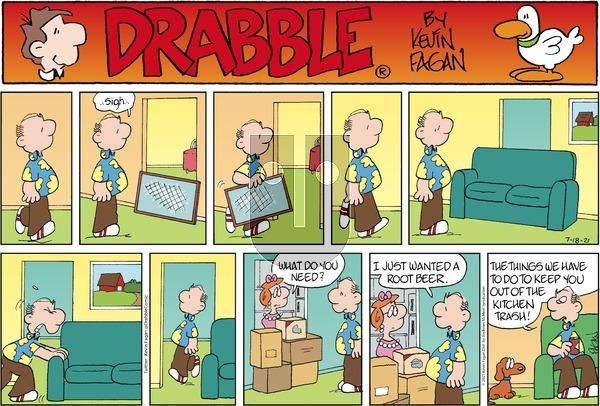 Drabble - Sunday July 18, 2021 Comic Strip