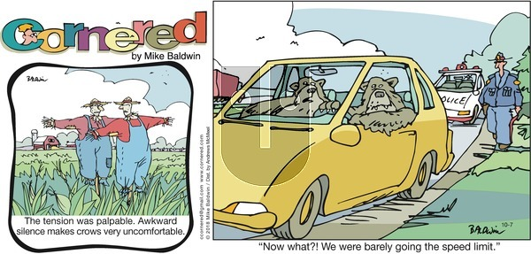 Cornered on Sunday October 7, 2018 Comic Strip