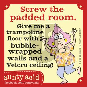 Aunty Acid on Friday September 1, 2017 Comic Strip