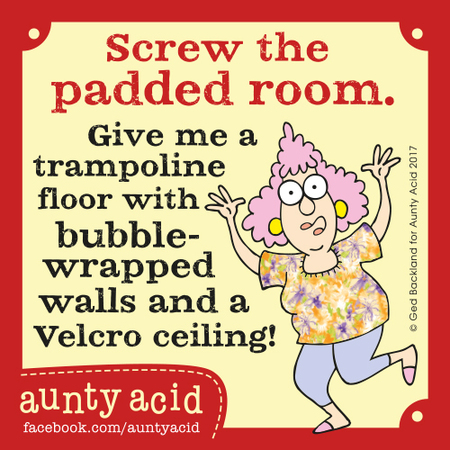 Aunty Acid for Sep 1, 2017 Comic Strip