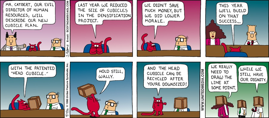 Dilbert Classics Comic Strip for August 16, 2020