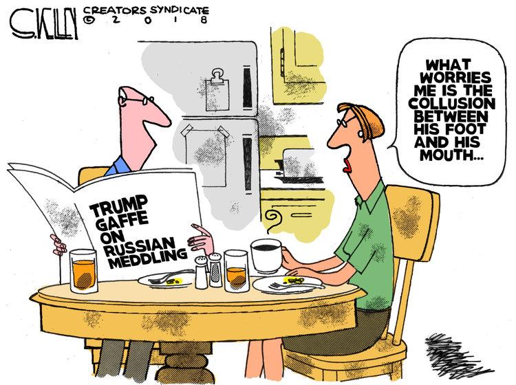 Steve Kelley Comic Strip for July 19, 2018