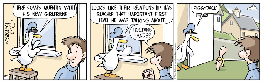 Ollie and Quentin for Mar 21, 2013 Comic Strip