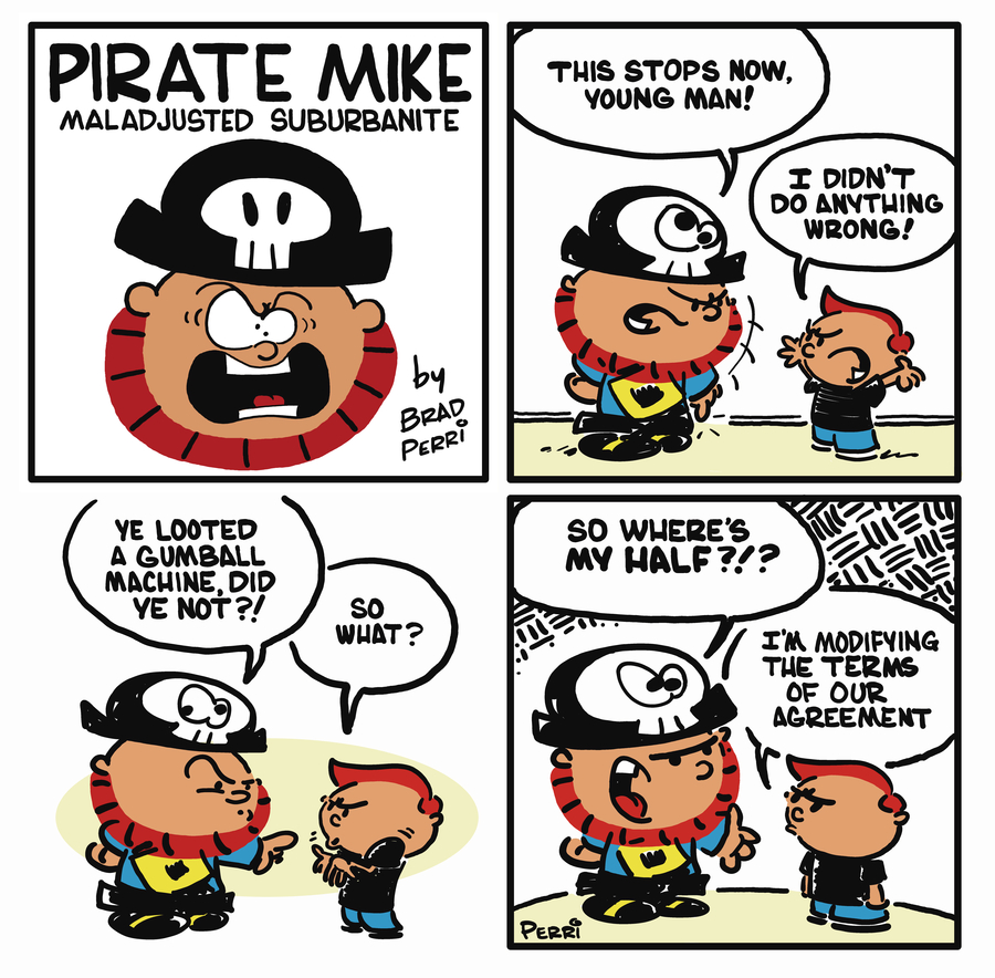 Pirate Mike Comic Strip for August 12, 2019