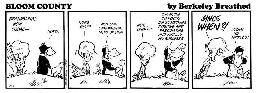Bloom County 2019 Comic Strip for October 01, 2016