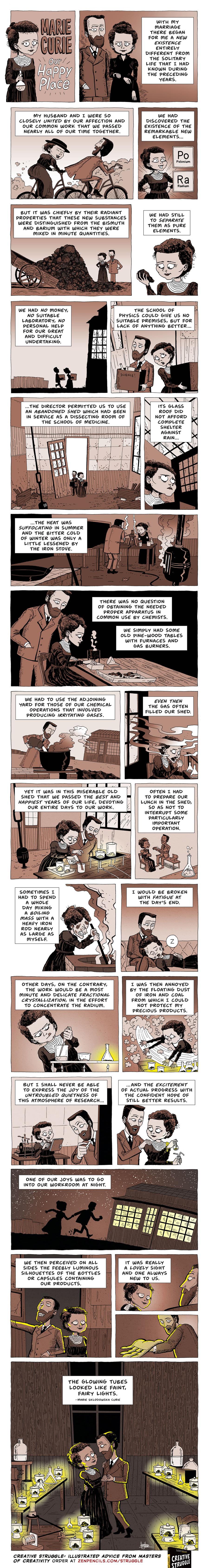 Zen Pencils Comic Strip for March 25, 2019