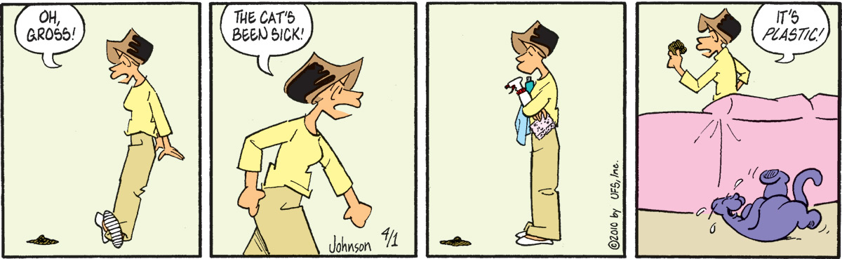 Arlo and Janis for Apr 1, 2010 Comic Strip