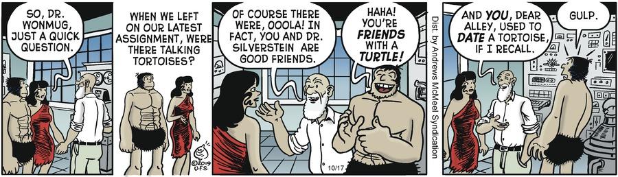 Alley Oop Comic Strip for October 17, 2019
