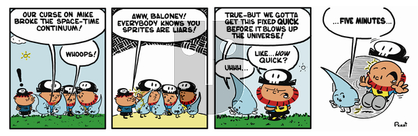Pirate Mike on Monday February 4, 2019 Comic Strip