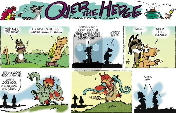 Over the Hedge on Sunday October 10, 2021 Comic Strip